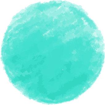 [Hand-painted] circle 3