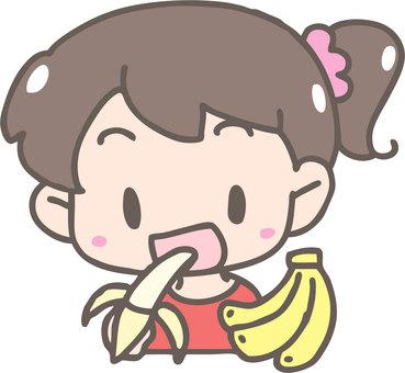 바나나를 먹자