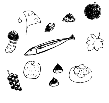 Autumn food and things