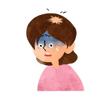 A woman with alopecia areata