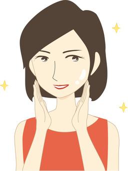 Bob Hair Middle-aged Women Cut-Skin Care