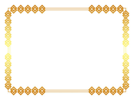 Simple frame gold