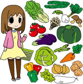 g_Shopping series _ Vegetable