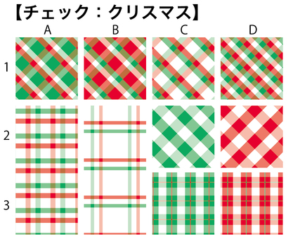 Pattern check (Christmas)