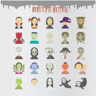 Various monsters
