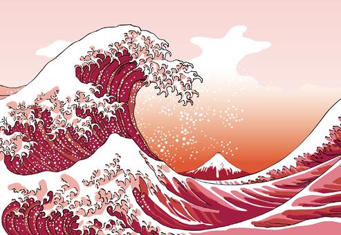 Kanagawa Okinawa Red version