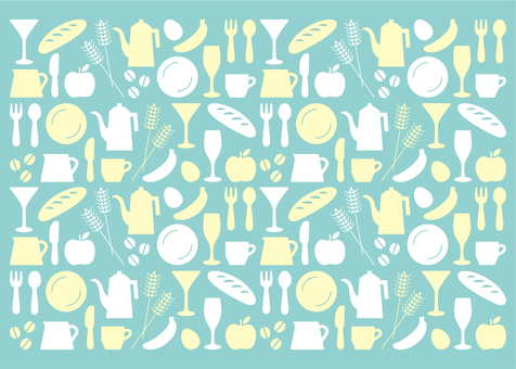 Kitchen icon pattern