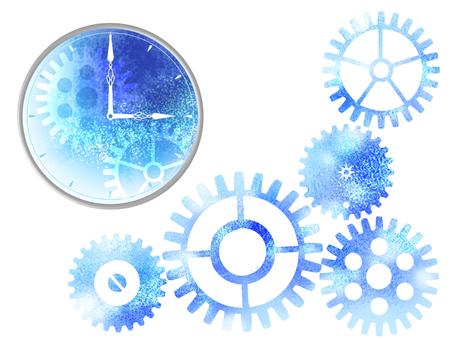 手表和齿轮