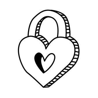 Key Heart 1