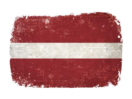 National flag Latvia