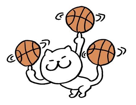 Cat basketball