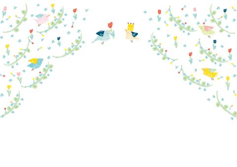 꽃과 작은 새의 편지
