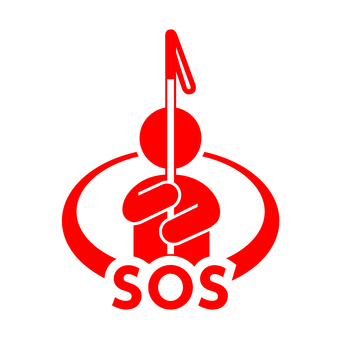 SOS 신호 마크