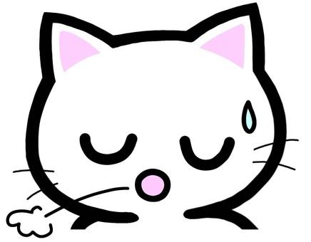 溜息 ためいき 猫