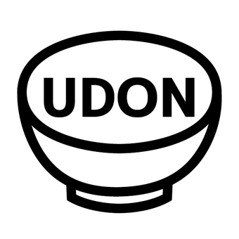Udon menu icon udon character