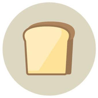 식빵 한 조각