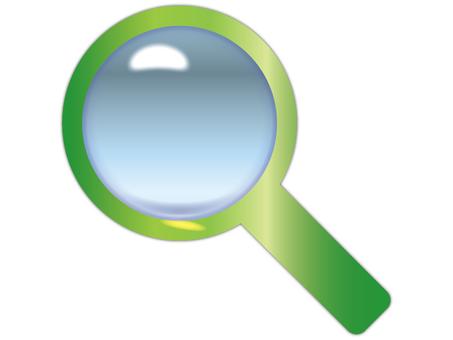 Lens / magnifying glass 14