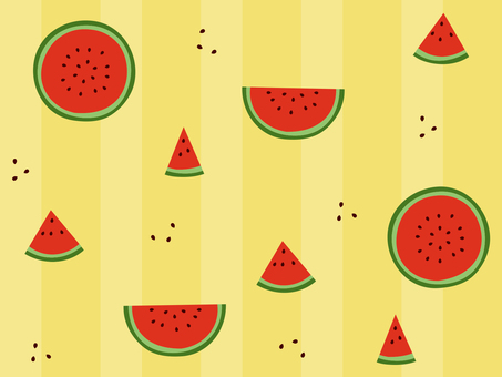 Watermelon Wallpaper 02 (with background / seamless)