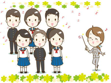 Chorus 7 (junior high student and teacher)