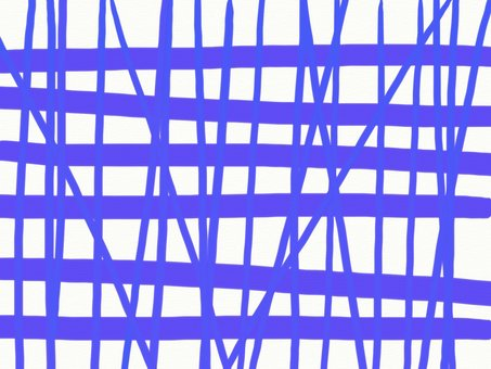 Irregular check pattern Blue