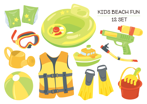 KIDS BEACH FUN