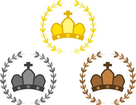 Crown (Gold, Silver, Copper)
