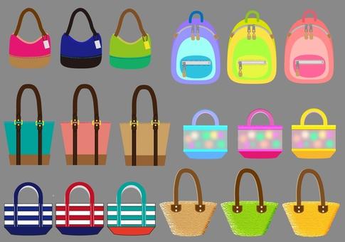 Bag set ~ gray series