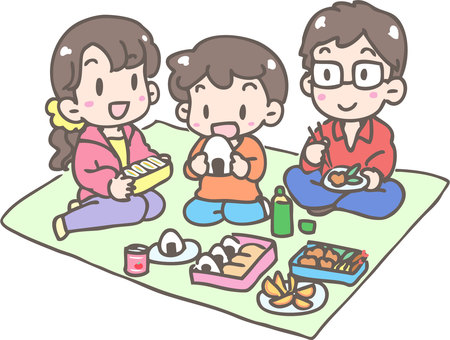 Lunch box for family