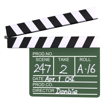 Clapperboard 01
