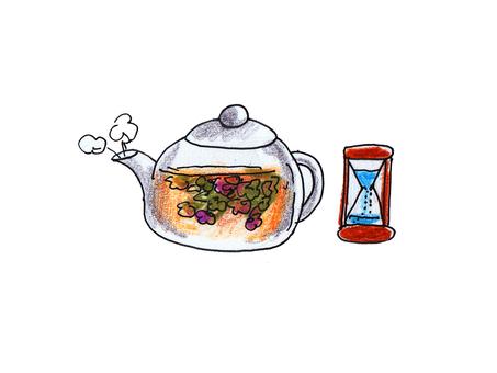 How to put herb tea (3)