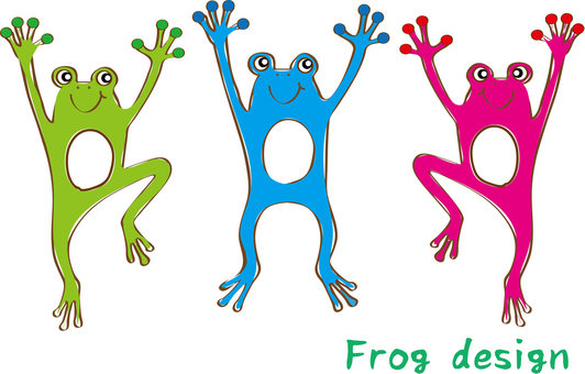 Frog 3 Brothers Set