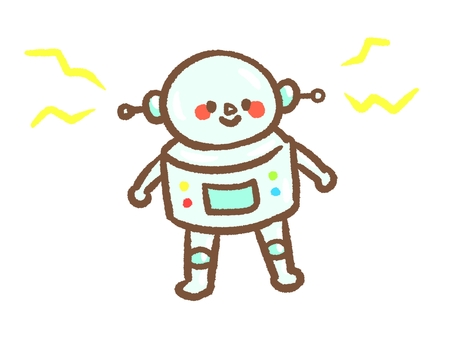 우주인 같은 로봇