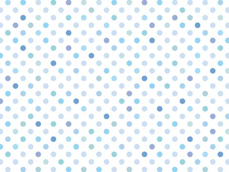 "Polka dot 3 ""Blue"""