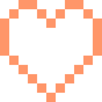 Heart _ pixel _ 02 _ red