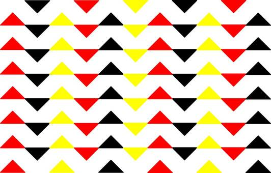 Triangular vertical shape image of the pattern crossing traffic light