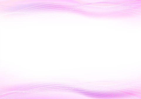 Pink abstract wavy line background material