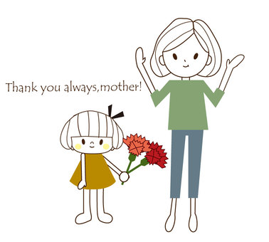 Thank you always,mother!2