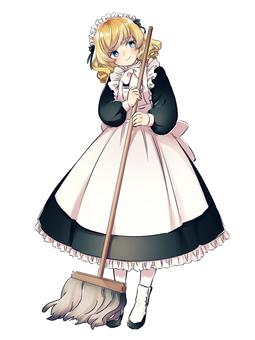 Maid blonde