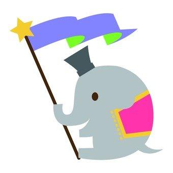 Circus elephant 6