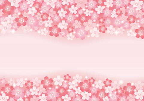 Cherry blossoms background 05