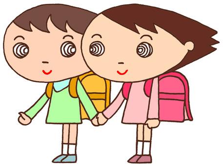 Elementary school character / friend