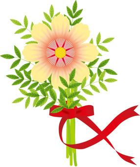 예쁜 꽃다발 & 리본 1