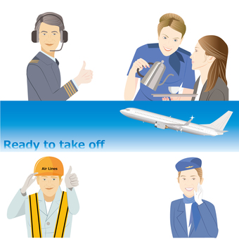 People who work airline