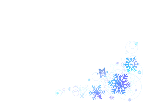 【Ai, png, jpeg】 Winter material 52