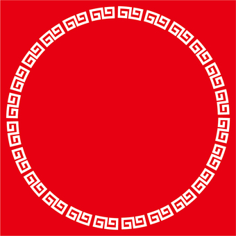 Chinese frame 2d