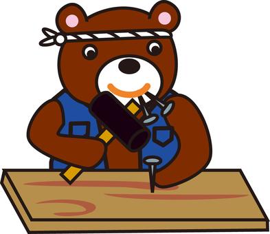 Carpenter of the bear