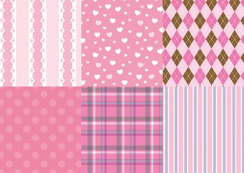 Pinky girly pattern