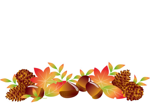 Autumn Material 03 - Kinen and Konoha