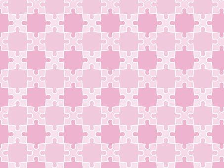 ai pink puzzle background with swatch pattern