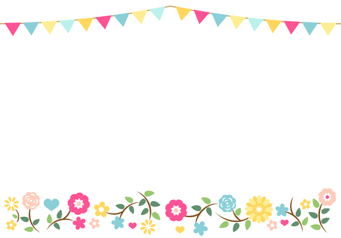 Flag Garland Frame